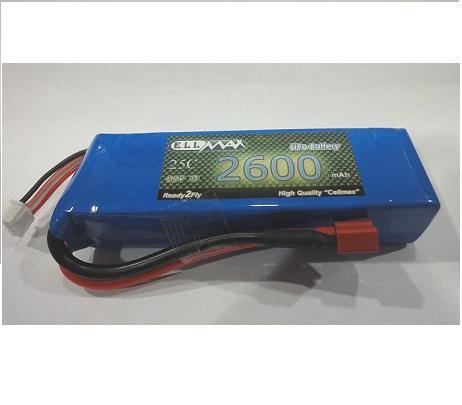 باتري cell max 11.1-2600-25c