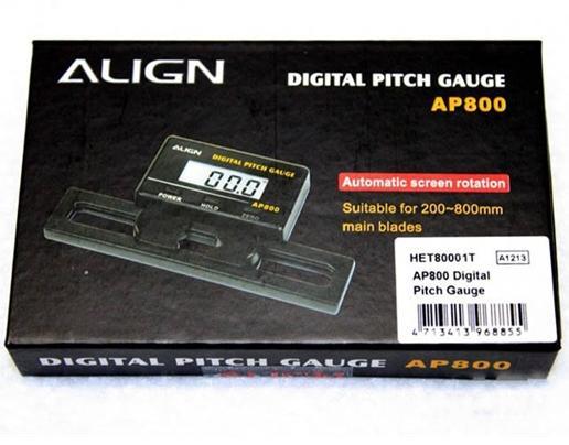 Align digital pitch gauge