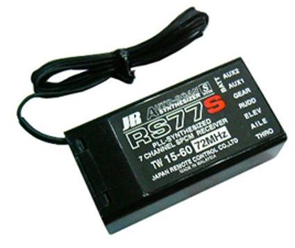 گيرنده 72 -7 كانال JR synthesizer RS77S
