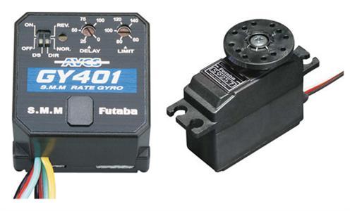 Futaba GY401 Gyro W/S9254