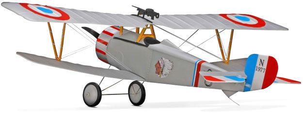 کیت بدنه Nieuport 17 250 ARF