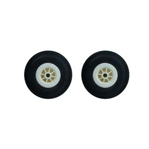 Rubber Wheel 51 mm چرخ لاستيكي ABC