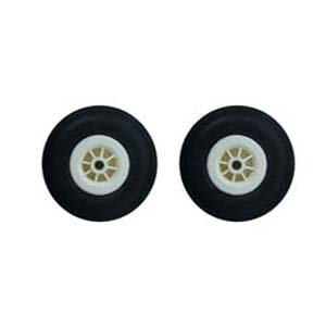 Rubber Wheel 57 mm چرخ لاستيكي ABC