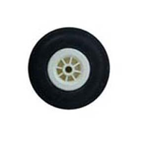 چرخ لاستيكي Rubber Wheel 75 mm- ABC