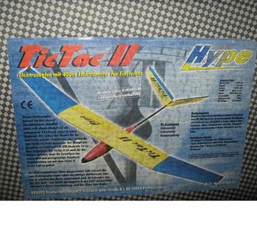 بدنه و موتور گلايدر المانی hype tic tac 2