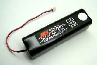 jr transmitter battery 9.6v باتری اصلی فرستنده jr