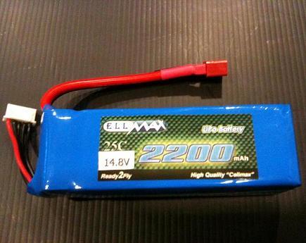 باتري cell max 14.8-2200-30c