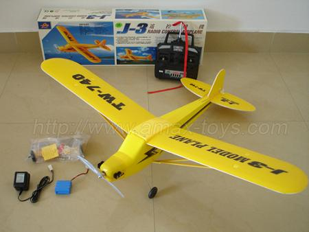 هواپيما پايپر-brush motor -RTF-J-3
