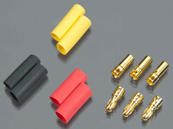 gold connector 3mm