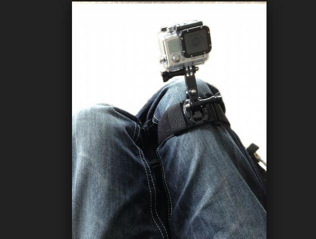بند روی پای دوربین