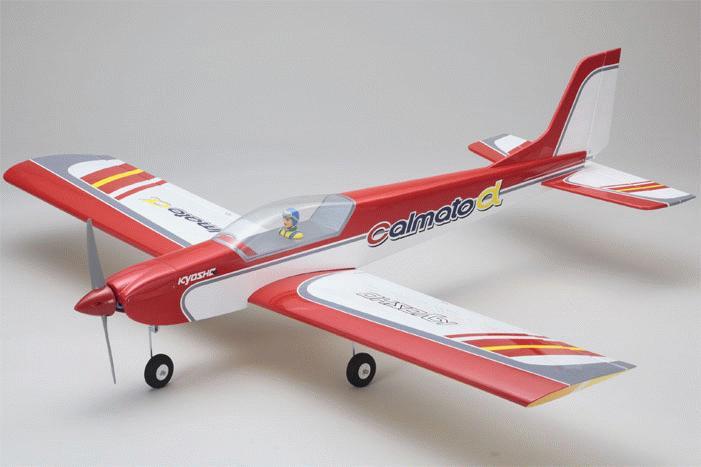 kyosho CALMATO ALPHA 40 Sports بدنه و موتور