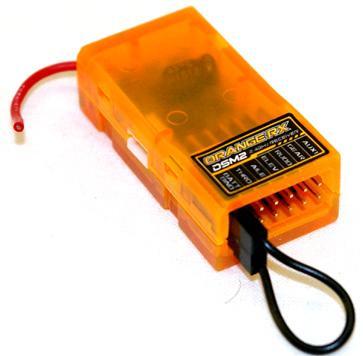 گيرنده  orange RX DSM2 6ch 2.4Ghz(براي راديو JR)