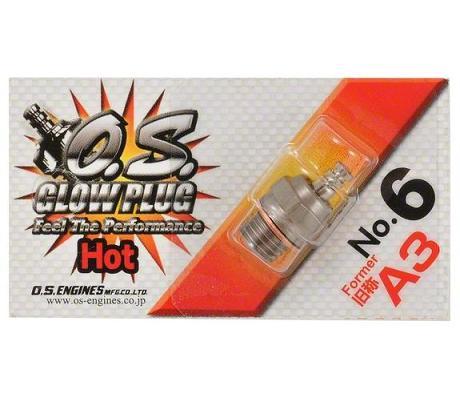 O.S. 6 Glow Plug