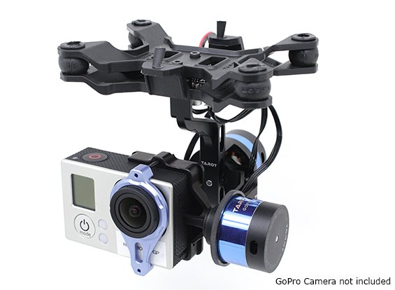 tarot 2axis camera brashless gimbal T-2D