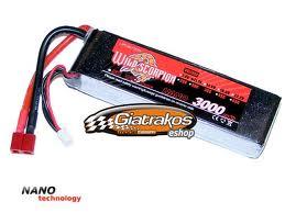 باتري wild scorpion 11.1-3000-35c_10c charge