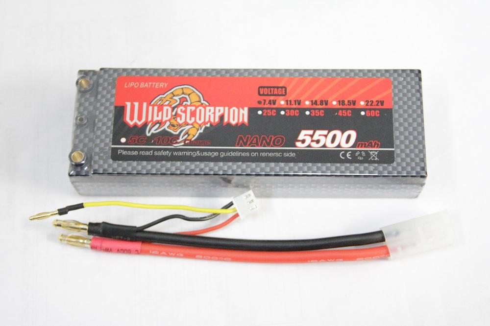 wild scorpion 5500mah 45c